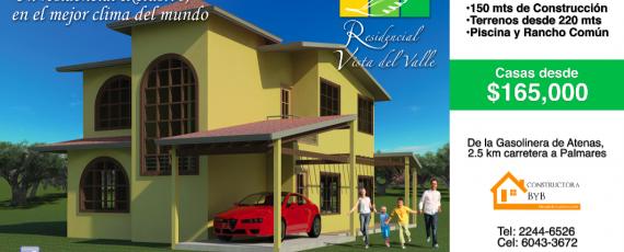 Residencial Vista del Valle, Atenas, Costa Rica